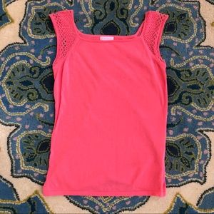 Lilly Pulitzer coral knit top